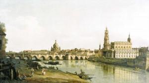 Dresden Elbe Augustusbrücke